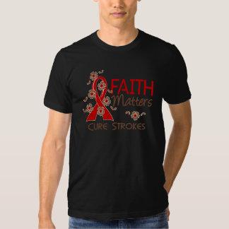 Faith Matters 3 Strokes Tshirt