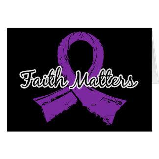 Faith Matters 5 Alzheimer's Disease Card