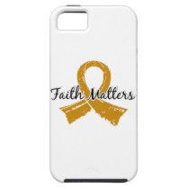 Faith Matters 5 Appendix Cancer iPhone SE/5/5s Case