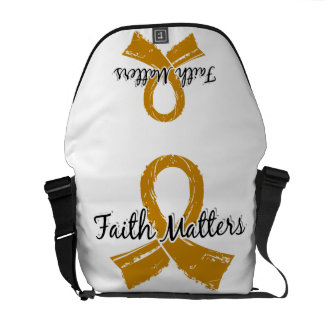 Faith Matters 5 Appendix Cancer Messenger Bag