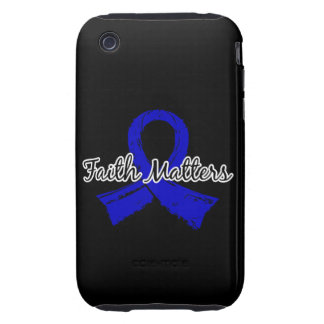 Faith Matters 5 Arthritis iPhone 3 Tough Case