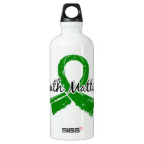 Faith Matters 5 Bile Duct Cancer Aluminum Water Bottle