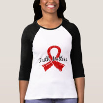Faith Matters 5 Blood Cancer T-Shirt