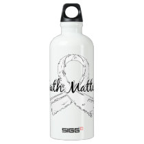 Faith Matters 5 Bone Cancer Water Bottle