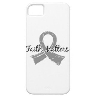Faith Matters 5 Brain Cancer iPhone 5 Covers
