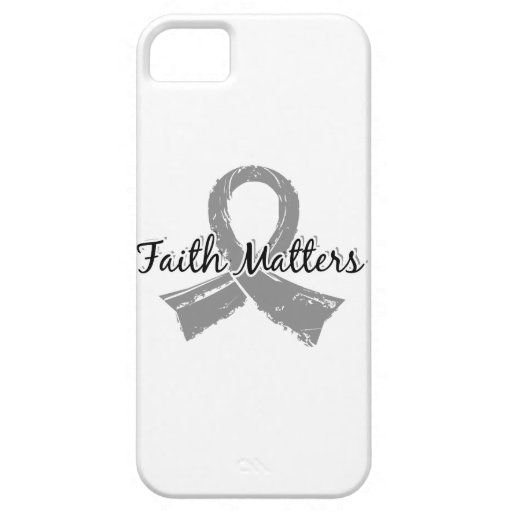 Faith Matters 5 Brain Cancer iPhone 5 Case