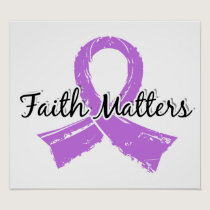 Faith Matters 5 Cancer (General) Poster