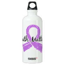 Faith Matters 5 Cancer (General) Water Bottle