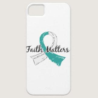 Faith Matters 5 Cervical Cancer iPhone SE/5/5s Case