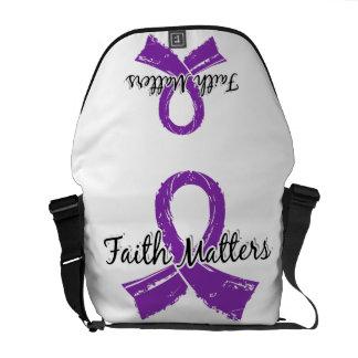 Faith Matters 5 Chiari Malformation Courier Bags