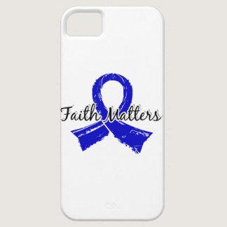 Faith Matters 5 Colon Cancer iPhone SE/5/5s Case