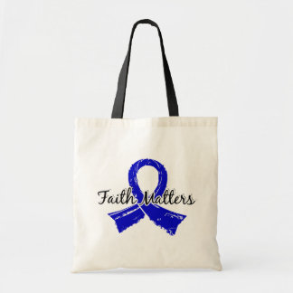 Faith Matters 5 Colon Cancer Tote Bag