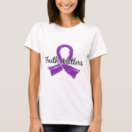 Faith Matters 5 Cystic Fibrosis T-Shirt