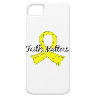 Faith Matters 5 Endometriosis iPhone SE/5/5s Case