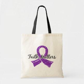 Faith Matters 5 Fibromyalgia Tote Bags