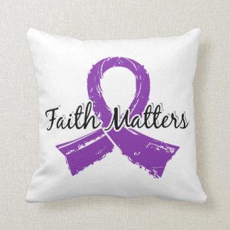 Faith Matters 5 Fibromyalgia Pillow