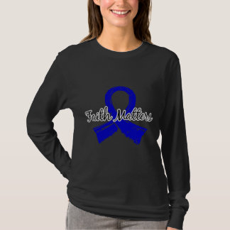 Faith Matters 5 Huntington's Disease T-Shirt
