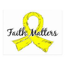 Faith Matters 5 Hydrocephalus Postcard