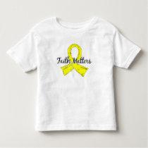 Faith Matters 5 Hydrocephalus Toddler T-shirt