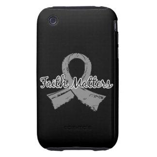 Faith Matters 5 Juvenile Diabetes iPhone 3 Tough Covers