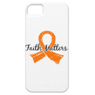 Faith Matters 5 Kidney Cancer iPhone SE/5/5s Case