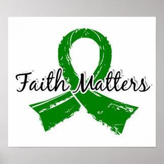Faith Matters 5 Kidney Disease Print