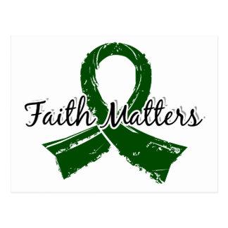 Faith Matters 5 Liver Disease Postcard