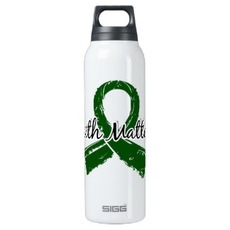 Faith Matters 5 Liver Disease 16 Oz Insulated SIGG Thermos Water Bottle