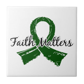 Faith Matters 5 Liver Disease Small Square Tile