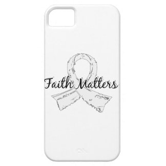 Faith Matters 5 Lung Cancer iPhone SE/5/5s Case