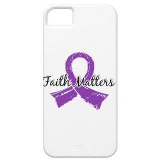 Faith Matters 5 Lupus iPhone SE/5/5s Case