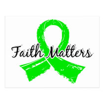 Faith Matters 5 Lyme Disease Postcard