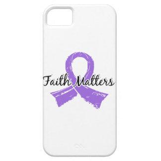 Faith Matters 5 Lymphoma (Hodgkin's) iPhone SE/5/5s Case