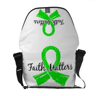 Faith Matters 5 Lymphoma Non-Hodgkin s Messenger Bags