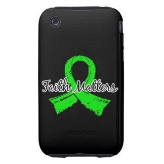 Faith Matters 5 Lymphoma (Non-Hodgkin's) iPhone 3 Tough Case