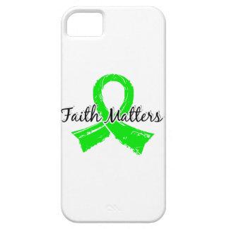 Faith Matters 5 Lymphoma (Non-Hodgkin's) iPhone 5 Cases