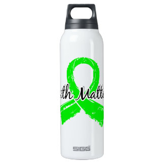Faith Matters 5 Lymphoma (Non-Hodgkin's) 16 Oz Insulated SIGG Thermos Water Bottle