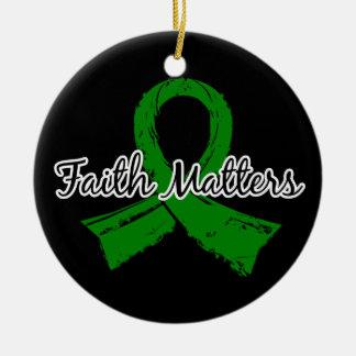 Faith Matters 5 Mental Health Ornaments
