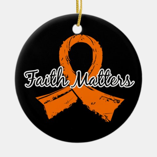 Faith Matters 5 Multiple Sclerosis Christmas Ornaments