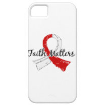 Faith Matters 5 Oral Cancer iPhone SE/5/5s Case