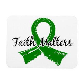 Faith Matters 5 Organ Donation Vinyl Magnet