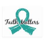 Faith Matters 5 Ovarian Cancer Postcard