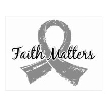 Faith Matters 5 Parkinson's Disease Postcard