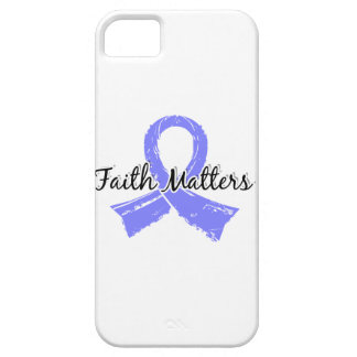 Faith Matters 5 Prostate Cancer iPhone SE/5/5s Case