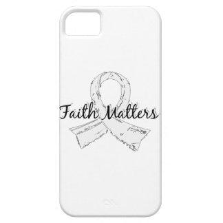 Faith Matters 5 Retinoblastoma iPhone SE/5/5s Case