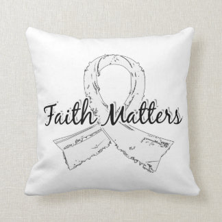 Faith Matters 5 Retinoblastoma Pillow