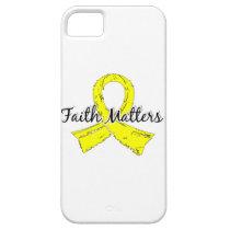Faith Matters 5 Sarcoma iPhone SE/5/5s Case