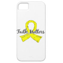 Faith Matters 5 Sarcoma iPhone SE/5/5s Case