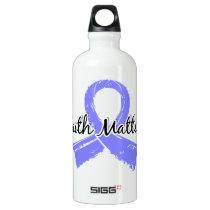 Faith Matters 5 Scleroderma Aluminum Water Bottle