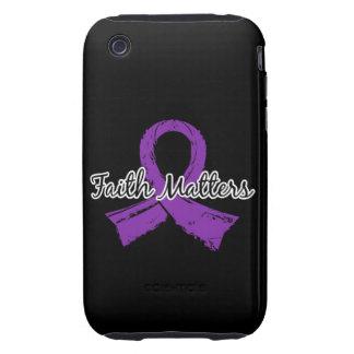 Faith Matters 5 Sjogren's Syndrome Tough iPhone 3 Cases